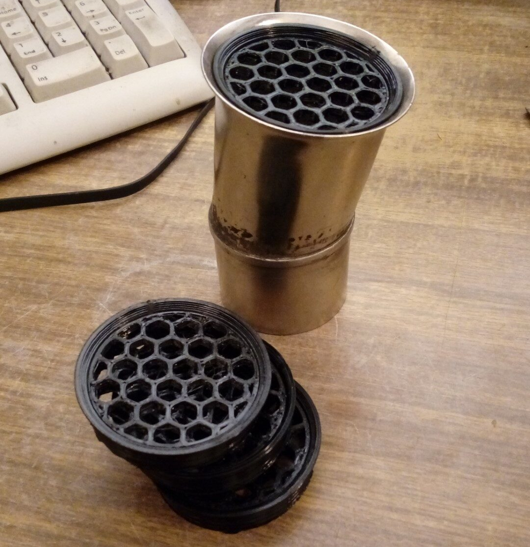 Matuojam oro filtriuką